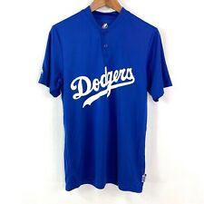 Majestic LA Dodgers Short Sleeve Cool Base Large Logo TShirt Men's Size Small