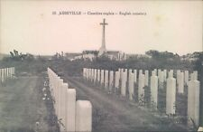 Postcard WW1 Abbeville English cemetery  unposted