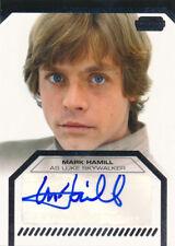 2012 Star Wars Galactic Files Autograph Auto Mark Hamill Luke Skywalker