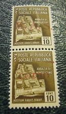 FRANCOBOLLO - POSTE REPUBBLICA SOCIALE ITALIANA M.A.S. di COMO  CENT. 10  C8-194