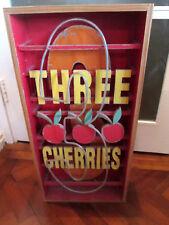 LARGE FRUIT MACHINE 3 CHERRIES BOXED ART WORK