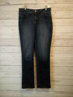 NYDJ Woman's Size 10 Straight Leg Tummy Tuck Tech Jeans