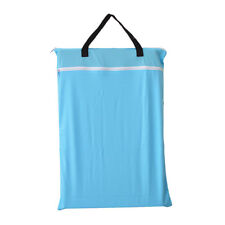 1 Large Hanging Wet/Dry Pail Bag Cloth Diaper,Insert,Blue,Laundry,Two Zippered