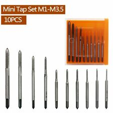 Mini Tap and Die Set 10pcs/set Hand Tap Thread Wire Taps Tool Steel Hand Tools