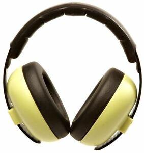 BABY BANZ BABY MINI EARMUFFS HEARING PROTECTION GREEN 3M+ EAR DEFENDERS NEW