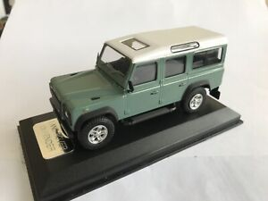 Land Rover Defender Light Green Diecast Model 1:43 Scale - Cararama Collectors