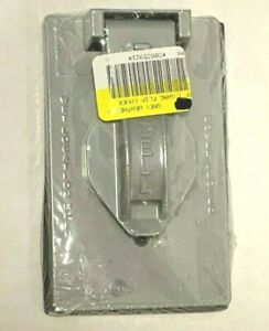 """BELL 5155-0 Single Lift Device Cover 1 gang 1.406"""" Wet location"""
