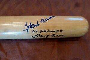 "Hank Aaron Signed 27"" Adirondack Bat -JSA Authenticated #BB86746"