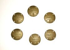 "5"" gauge - Set of 6 Timken Bearing Covers for Live Steam"