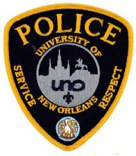 UNIVERSITY OF NEW ORLEANS POLICE LOUISIANA NEW PATCH SHERIFF