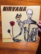 Nirvana Incesticide Red Vinyl Euro Press 1992 Error GEF24504