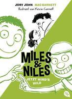 Miles & Niles - Jetzt wird's wild Jory John Buch Die Miles & Niles-Reihe Deutsch