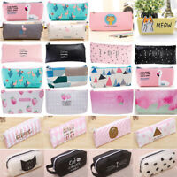 Portable Pen Pencil Case Hard Shell Holder Pouch Stationery Box Makeup Bag