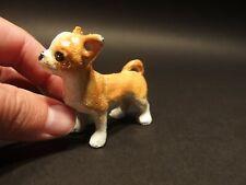 Antique Style Miniature Cast Iron Chihuahua  Dog