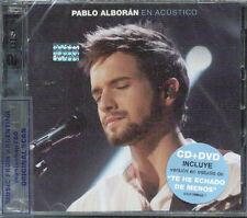 CD + DVD SET PABLO ALBORAN EN ACUSTICO + 3 BONUS TRACKS & EXTRAS SEALED NEW 2012
