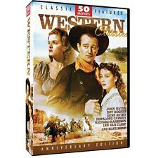 Western Classics 50 Movie Pack (DVD, 2004, 12-Disc Set) NEW!