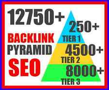 12750+ Backlinks pyramid from different domain - Boost your website Ranking