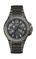 Guess Herrenuhr Männeruhr W0218G1 Multifunktions Uhr Armband Edelstahl