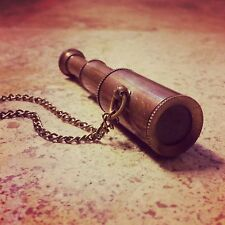 Pirate Working Telescope Spyglass Necklace Hot Sale - Vintage Style Collapsible