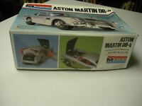 Aston Martin DB-4 1/25Scale Unassembled Monogram  Model Kit 1978 In Original Box