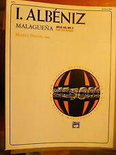 I. ALBENIZ  MALAGUENA  and  Pieces we like to play Piano 2 Books  Lot  #15 -B