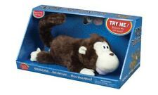 New LOL Rollover Monkey Pets Brown Roll Over Toy Westminster Laughing Chimp Ape