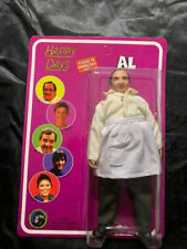 """04 Unpunched Happy Days Action Figure 8"""" Classic Tv Toys Collectible Al Molinaro"""