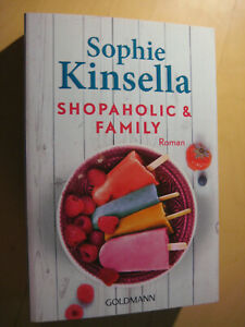 Shopaholic & Family von Sophie Kinsella Roman Goldmann 2016 - deutsch Topzustand