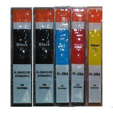 5x für HP 364XL Deskjet 3070A 3520 Officejet 4620 4622 4610 Photosmart 5520 5522