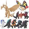 10Pcs/ Set Godzilla 2 Mechagodzilla Gigan Anguirus Action Figure PVC Gift Toys