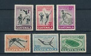 [104506] Guatemala 1950 Sport soccer tennis swimming athletics  MLH