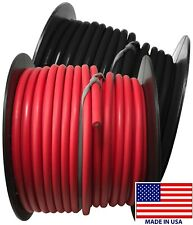 (2) 8 Gauge Wire 100 FT Red & Black Primary AWG Automotive Stranded Copper USA