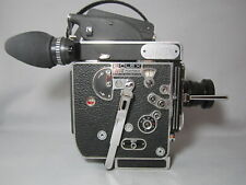 SUPER-16! 13X VIEWER BOLEX REX-5 MOVIE CAMERA ZEISS LENS! TESTED READY TO FILM