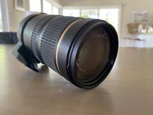 Tamron 70-200 SP 2.8 VC (Nikon mount)