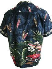 Hawaiian Islands USA Woody Short Sleeve Nice Large