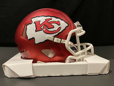 CUSTOM ANODIZED KC SPEED HELMET KANSAS CITY CHIEFS OVERSIZED DECALS Mahomes Supe