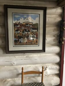 Jane Wooster Scott  Cape Cod Autumn Artist's Proof Signed 7/595 Painting