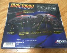 Dual Turbo Cordless Controller Sealed NEW In Box Wireless Sega MegaDrive Genesis