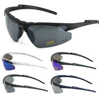 Mens Womens Outdoor Sports Wrap Sunglasses Baseball Cycling Running Driving Golf