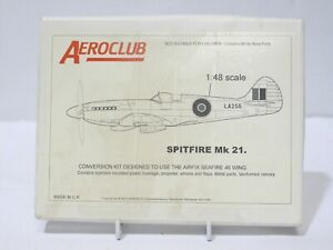 Aeroclub Spitfire Mk.21 1/48 Scale Model Aircraft NEW BOXED - 254