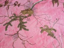 Realtree Xtra Pink Camouflage Twill Fabric by the Yard - CAMO808