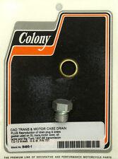 Harley 37-86 Trans & Motor Drain Plug 707 Colony 8495-1