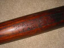 Vintage Spalding League Baseball Bat Turn of the Century