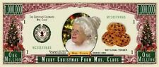 Fantasy Paper Money  ▶ TJ6-2010 Christmas Serie Mrs Santa Claus One Million