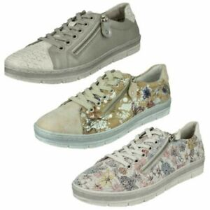 Ladies Remonte Casual Trainer Style Shoes 'D5800'