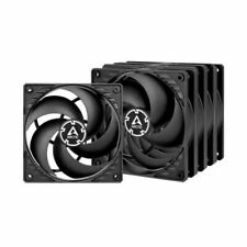 Silent Cooler,80x80x10mm By Sixsons High Airflow Computer Case Fan,CPU Coolers Computer Heatsink Sleeve-Bearing Cooling Fan,DC 12V Cooling Fan,2Pin Brushless Cooler