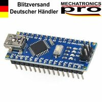Arduino Nano ** VERLÖTET ** Hochwertiges komp. Board ATmega328P CH340g 5V 16MHZ