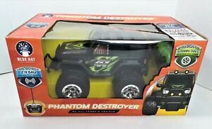 """Phantom Destroyer Blue Hat Remote Control All Terrain Vehicle Brand New """"A""""  720"""