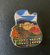 Hard Rock Cafe Pigeon Forge Icon Series Pin Gold Back 2015 LE