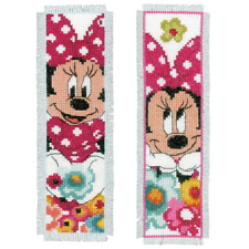 Vervaco Disney Minnie Mouse 'Daydreaming' Marcapáginas Kit de Punto de Cruz (Se